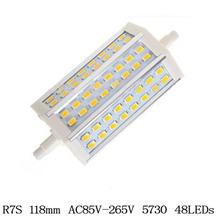 R7S LED 7W 12W 25W 35W Samsung SMD5730 led r7s 78mm J78 118mm J118 189mm J189 bulb light halogen Lamps floodlight(China (Mainland))