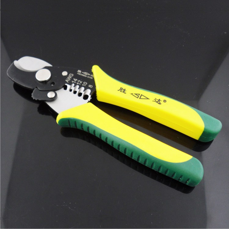 Buy [ 7 inch multi-function cable strippers ] electrical tools cable stripper stripping knife cheap