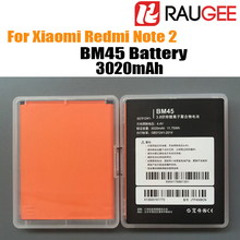 In Stock 100% Brand New BM45 3020mAh For Replace Li-Poly Battery Of  Xiaomi Redmi Note 2 Smart Mobile Phone+Free Shipping