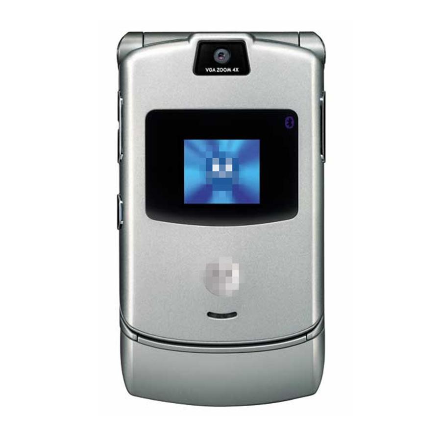 v3 Mobile phone unlocked razr v3 phone Unlocked GSM(China (Mainland))