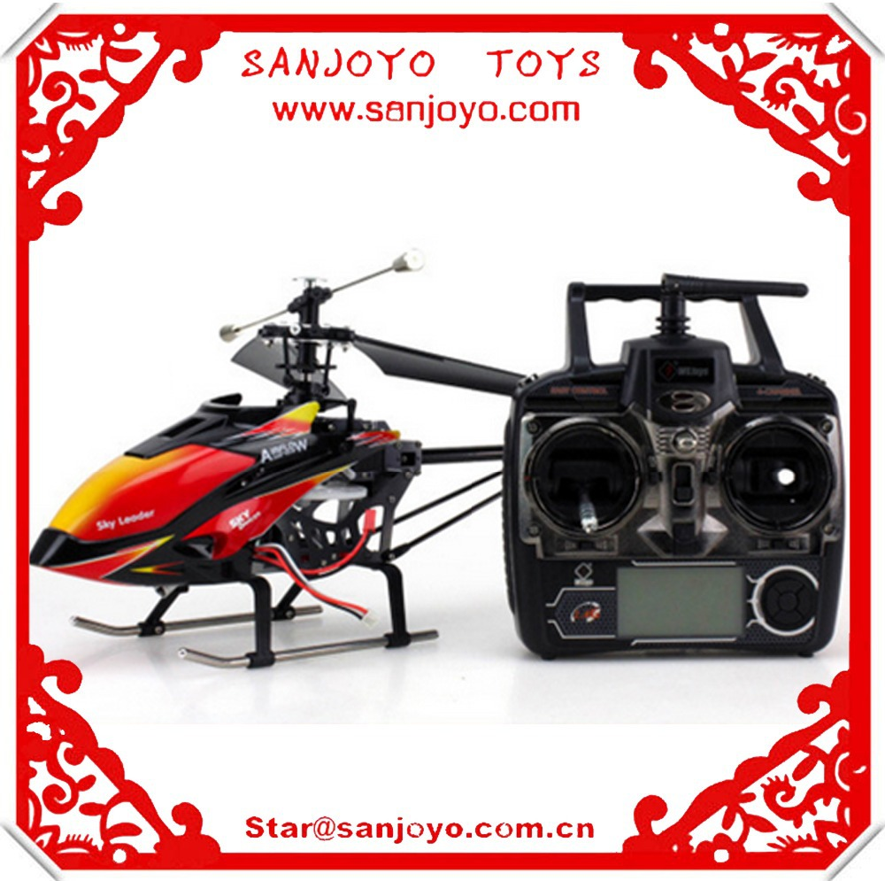V913 Small Package free shipping wltoys rc helicopter 2.4G single 4ch helicopter toys(China (Mainland))