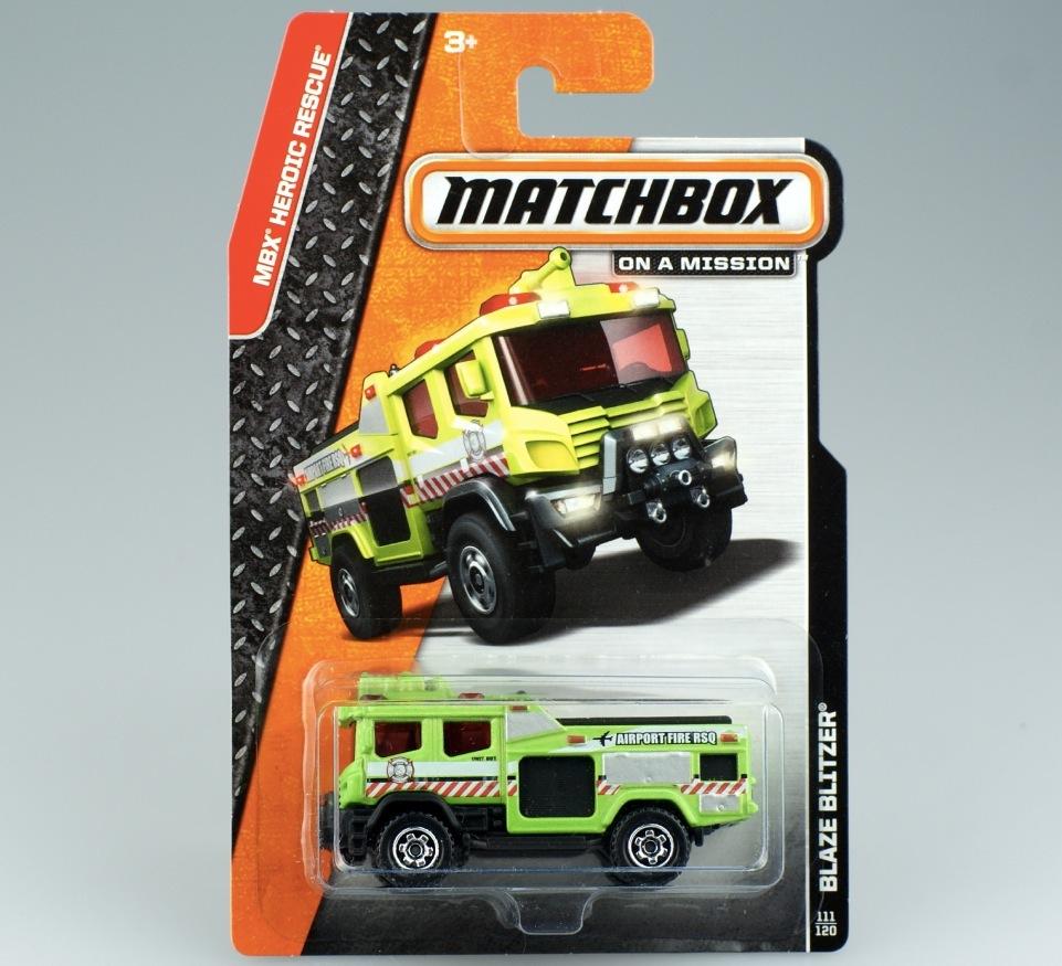 Matchbox matches box blaze blitzer fashion fire truck mb 881(China (Mainland))