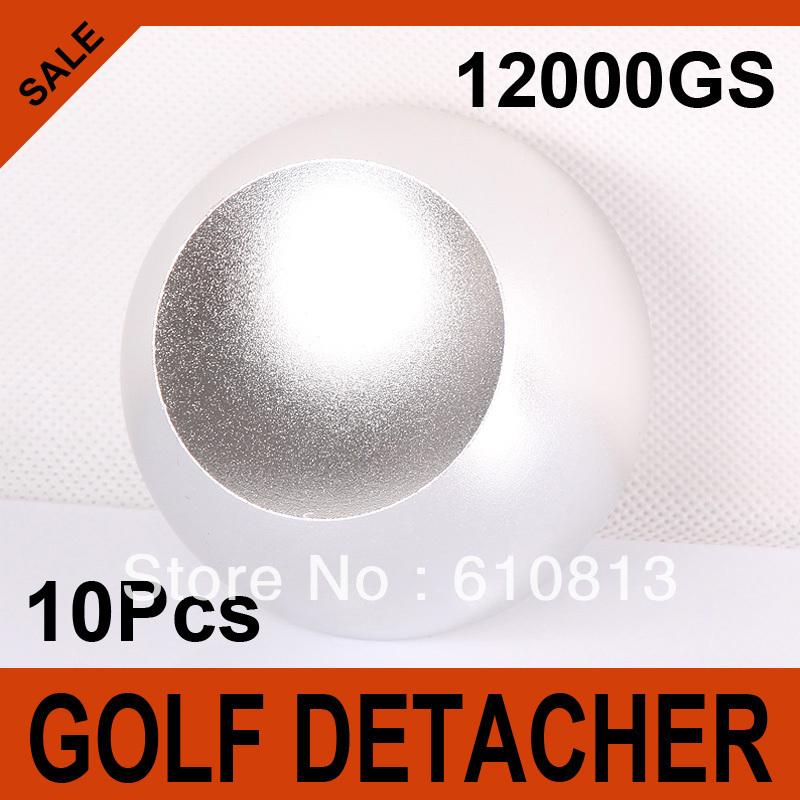 10Pcs/lot Golf Detacher Security Tag Remover Super Magnetic Force Hard Detacher Eas System 12000GS(China (Mainland))