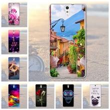 Buy Fundas Phone Case Cover Sony Xperia C5 Ultra E5553 E5506 E5533 E5563 Soft TPU Owl Dog Scenery Printed Sony Xperia C5 for $1.56 in AliExpress store