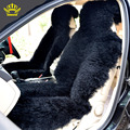 2016 KOPOHA MEX fur Car Seat Cover Natural Australian sheepskin Long wool cushion winter new plush