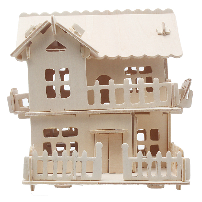Kids Educational Toy 3D Wooden jigsaw Puzzle Toy for Children DIY Handmade Wooden jigsaw Architectural Puzzles Series GI677637(China (Mainland))