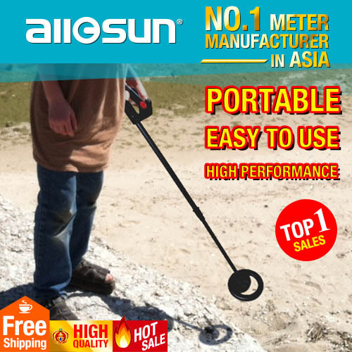 all-sun TS20 Underground Metal Detector Ground Search Metal Detector Hunter's Gold/Silver/Copper Adjustment High Sensitivity(China (Mainland))