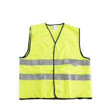 Safety gear night Reflective jacket Reflective traffic Fluorescent green vest Size-L GM0703(China (Mainland))