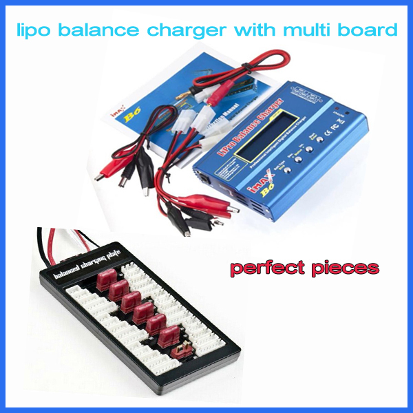 RC Model Plane/Heli - Turnigy Accucel-6 50W 6A Balancer/Charger w/accessories with digital T board(China (Mainland))