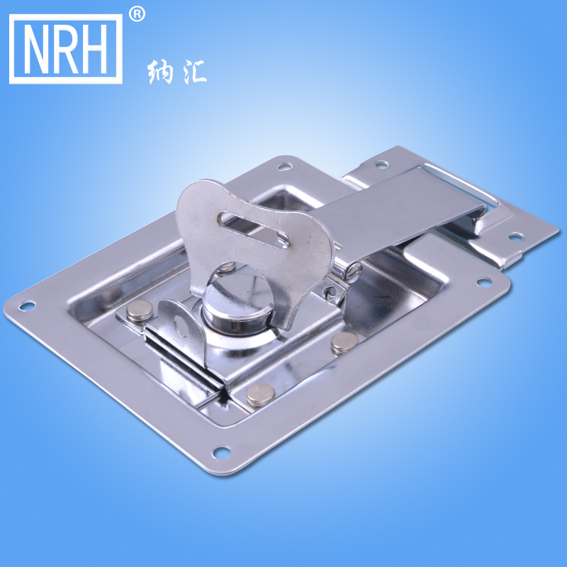 NRH 6203 DJ cabinet cold rolled steel butterfly latch Seismic Audio chrome plating recessed butterfly lock for road case(China (Mainland))