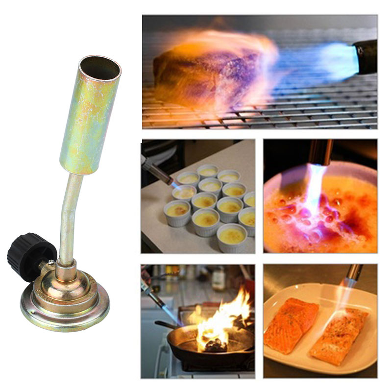 Portable Outdoor Camping Cooking BBQ Gas Burner Flame Butane Gas Burner Fire Torch Lighters(China (Mainland))