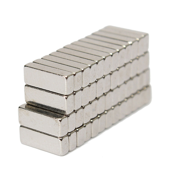 Гаджет  High Quality 50 pcs N35 8x3x2mm NdFeB Rare Earth Strong Block Magnet Magnetic Neodymium DIY New Arrival None Строительство и Недвижимость