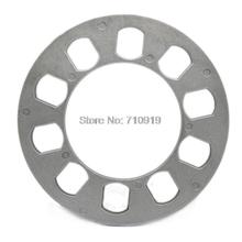 TIROL T12849a Universal Wheel Spacer 5 hole 8mm thick Aluminum Wheel adapter fit 5 lug 5X114.3 5X120 5X120.7 5X127 FREESHIPPING(China (Mainland))