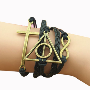 Dragon/Arrow/Infinity Friendship Bracelet