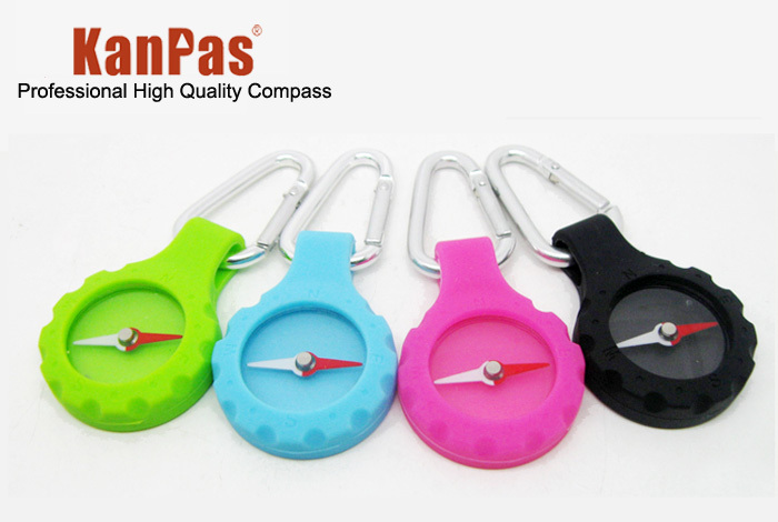 free shipping Outdoor camping , travel button candy color compass(China (Mainland))