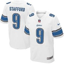 2016 100% stitched logo Elite Men Detroit Lions, 81# Johnson,20 Barry Sanders, 9 Matthew Stafford, 94# Ezekiel Ansah blue white(China (Mainland))