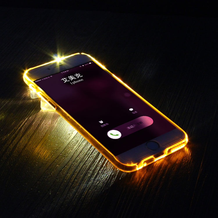 For iphone 6 6S Imak Flashing case,original IMak Flash LED case For iphone 6 6S 4.7inch with trun on/off flash button(China (Mainland))