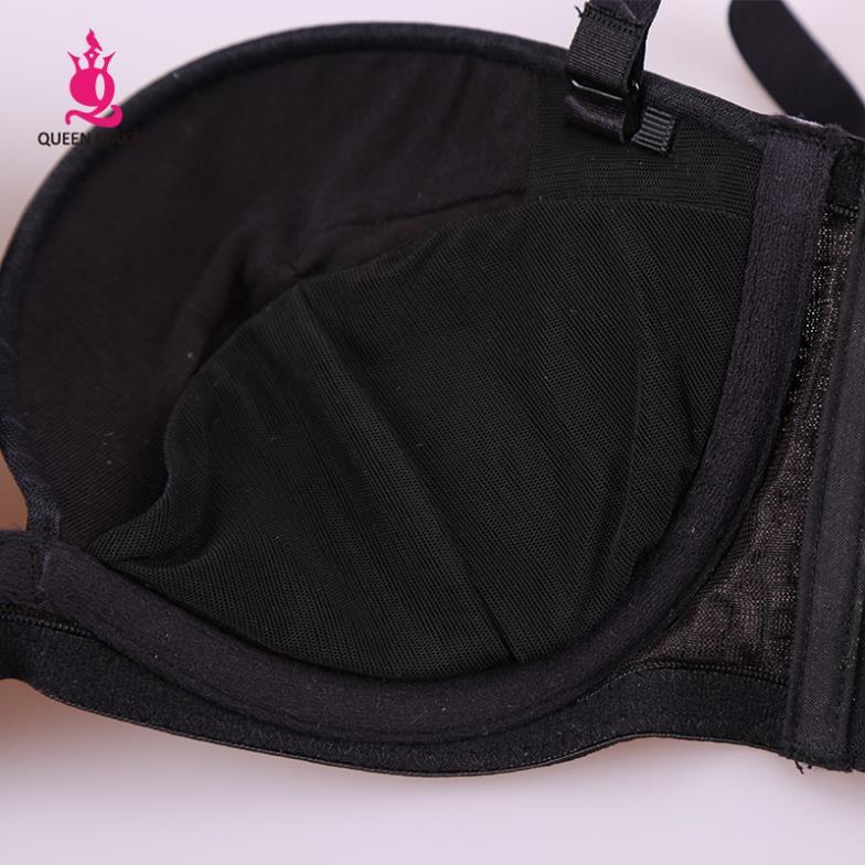 Hot Sale QueenMaker Women s Intimates Sexy Push Up Bra Underwear FB313 for Women