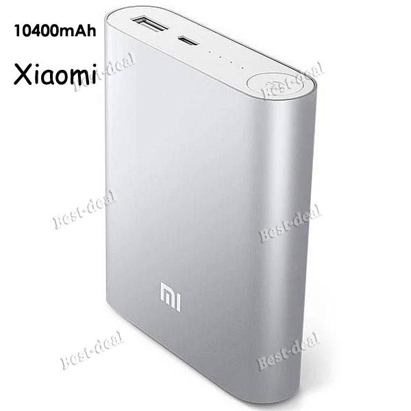 original xiaomi power bank 10400mAh external battery xiaomi 10400 portable xiaomi powerbank Charger for iPhone 4S 5S S5 6 6plus(China (Mainland))