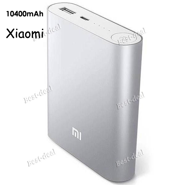 original xiaomi power bank 10400mAh external battery xiaomi 10400 portable xiaomi powerbank Charger for iPhone 4S 5S S5 6 6plus(China (Mainland))