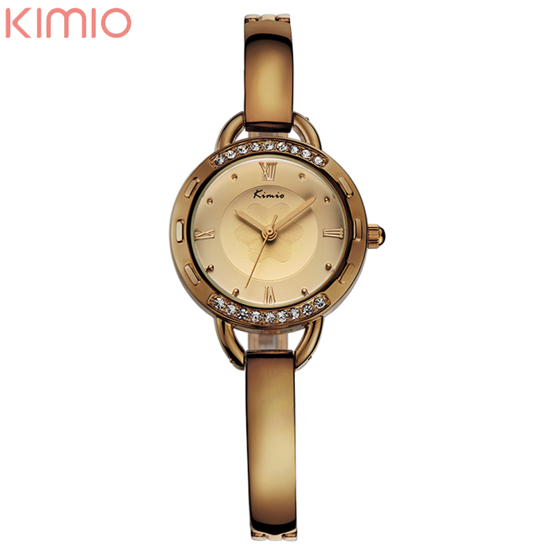 2016 New High Quality Alloy Gold Watch Fashion Casual Women's Ladies Quarzt Wrist Watches Set with Crystal Hours(China (Mainland))