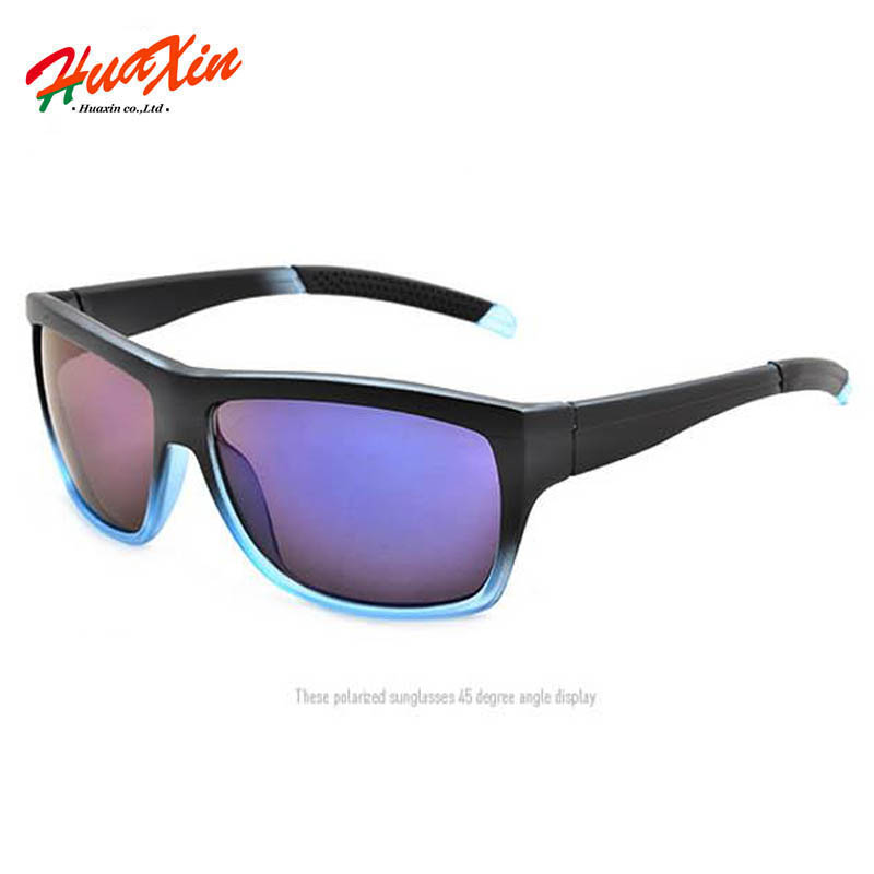 Fashion Sport Sunglasses Men Brand Designer Goggles Plastic glasses gradient blue Outdoor men Sun Glasses UV400 Eyewear oculos(China (Mainland))