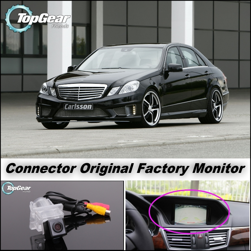 Car Camera Connect Original Factory Screen / Monitor For Mercedes Benz E Class MB W212 High Quality Rear View Back Up Camera<br><br>Aliexpress