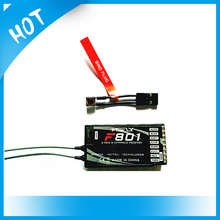 2.4GHz 8CH F801 Receiver Digital Spread Modulation 2 AND X Receiver Support PPM DX8JR DX7 for Quadcopter