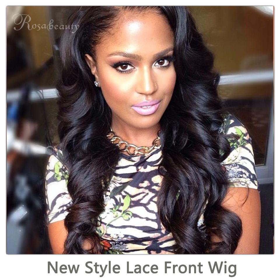 100 Brazilian Human Hair Lace Front Wigs 2