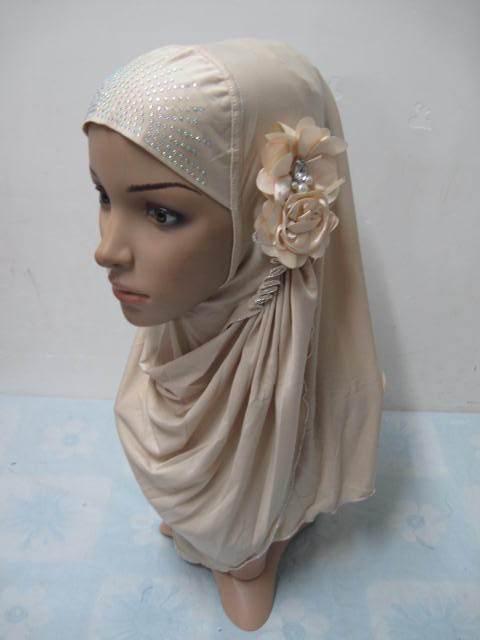 Muslim set of cap Muslim fashion scarf