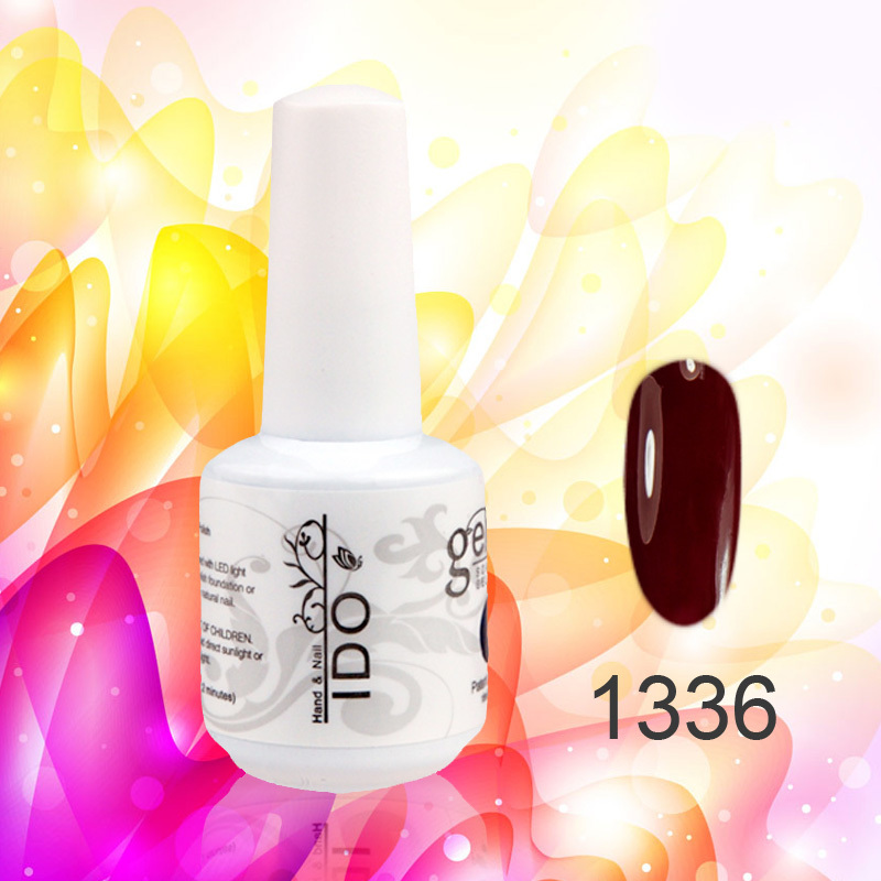 48PCS IDO gel nail polish soak off  UV gel color 15ml/0.5oz Gorgeous colors long lasting  DHL Fast Free shipping