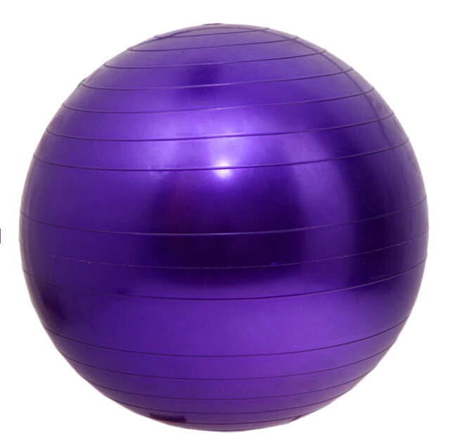 Fitness Exercise Swiss Gym Fit Yoga Core Ball 65CM Abdominal Back leg Workout H5014Y(China (Mainland))