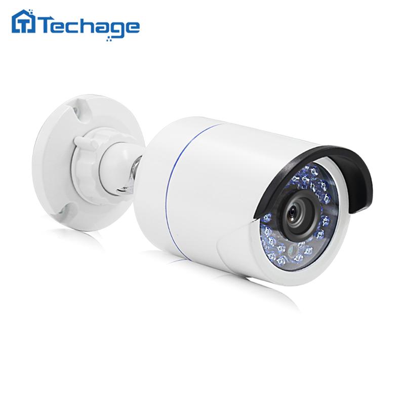 Techage 720P 960P 1080P HD CCTV IP Camera Outdoor IP66 Waterproof P2P Onvif IR Night Vision Security Surveillance Video Camera(China (Mainland))
