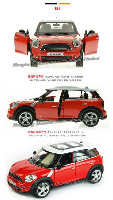 136 Car Model For mini cooper countryman (2)