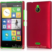 New High Quality Multi Colors Luxury Rubberized Matte Hard Phone Case Cover For Nokia X2 Dual SIM RM-1013 for Nokia X2DS