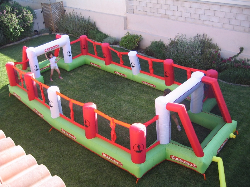 Giant Inflatable Football Playground Inflatable Soccer Field For Sale inflatable football pitch(China (Mainland))