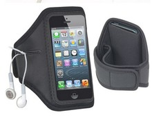 2015 hot Outdoor Sport Running Arm Band Gym Strap Holder Case Cover for iPhone 5 5G Waterproof Armband