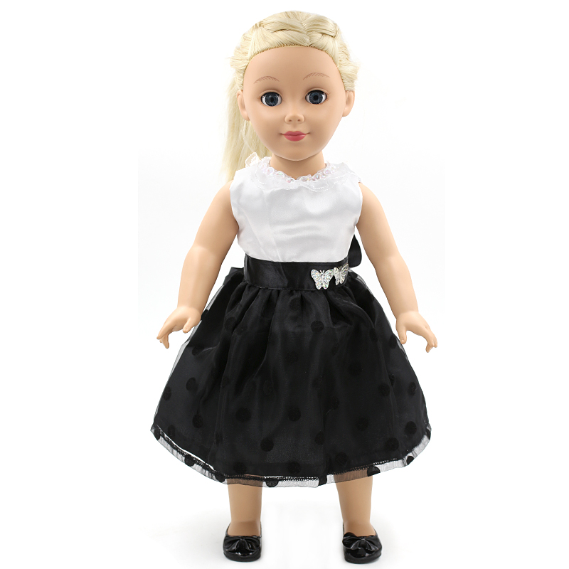 New American Girl Doll Clothes Cute Black and White Tuxedo