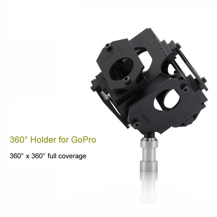 ถูก 360 Heros Pro6 360องศาPlug-n-Playกรณีผู้ถือM OuntสำหรับG Opro/g opro/ไปโปร/ด้วยภูเขา/ยืนVRวิดีโอGoproอุปกรณ์เสริม