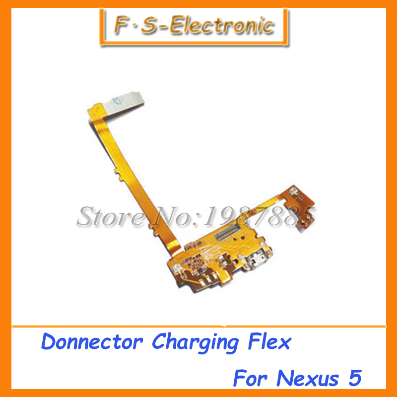 Free shipping For LG google nexus 5 D820 D821 Mic Microphone USB Charger Charging port for nexus5 dock connector flex cable(China (Mainland))