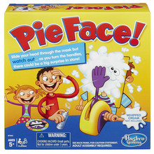 Novelty Pie Face! Game Prank Toys Trick Halloween Kids Children Gags Practical Jokes Surprise Gift For Children(China (Mainland))