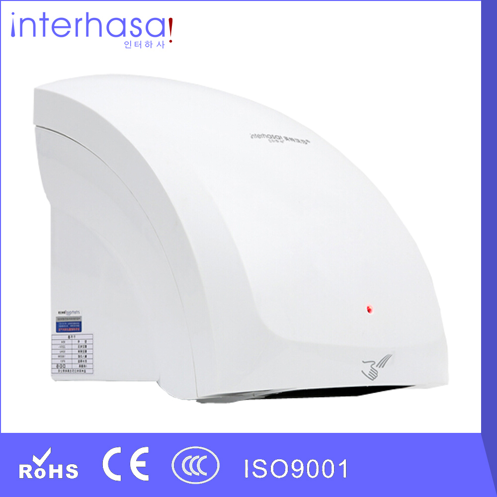 New Design Wall-mounted Mini Colorful Automatic Intelligent Hotel Toilet Hot/ Cold Wind Hand Dryer(China (Mainland))