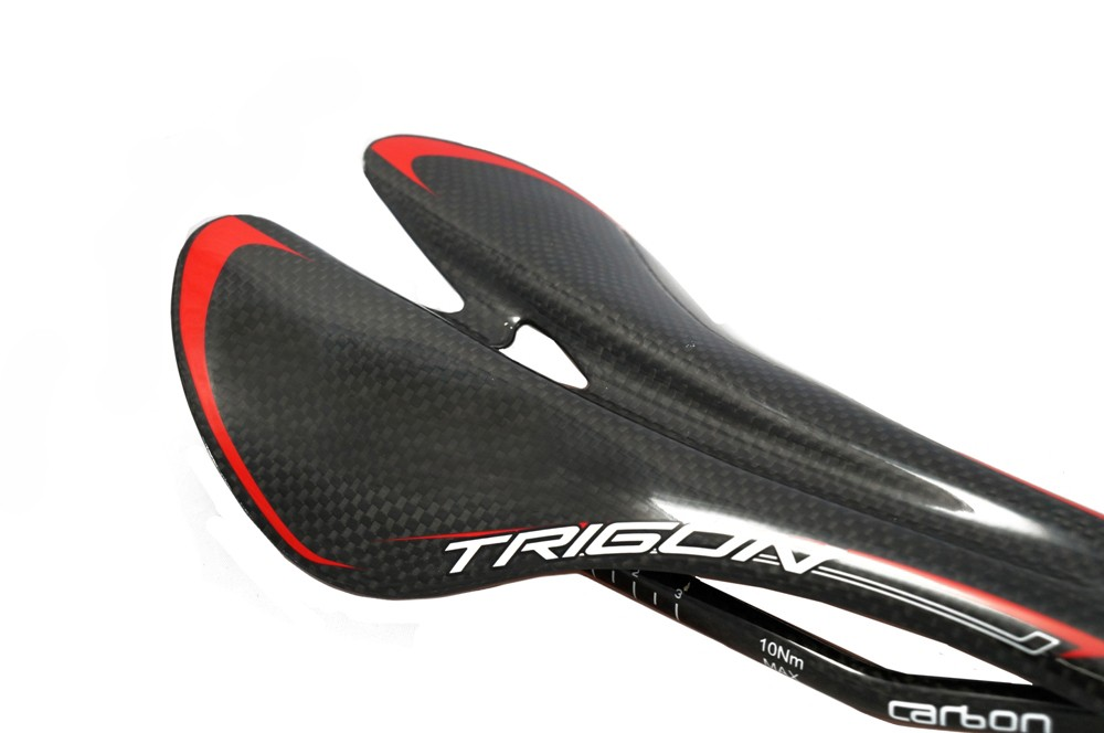 Trigon VCS02 full carbon bicycle saddle road MTB seat with padd ultralight 115g