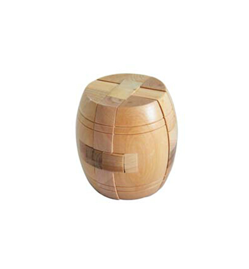 New Arrival Gift Toy Adult 3D Wooden Puzzle Brainteaser Beer Barrel Lock Jigsaw Wood Fancy Christmas(China (Mainland))
