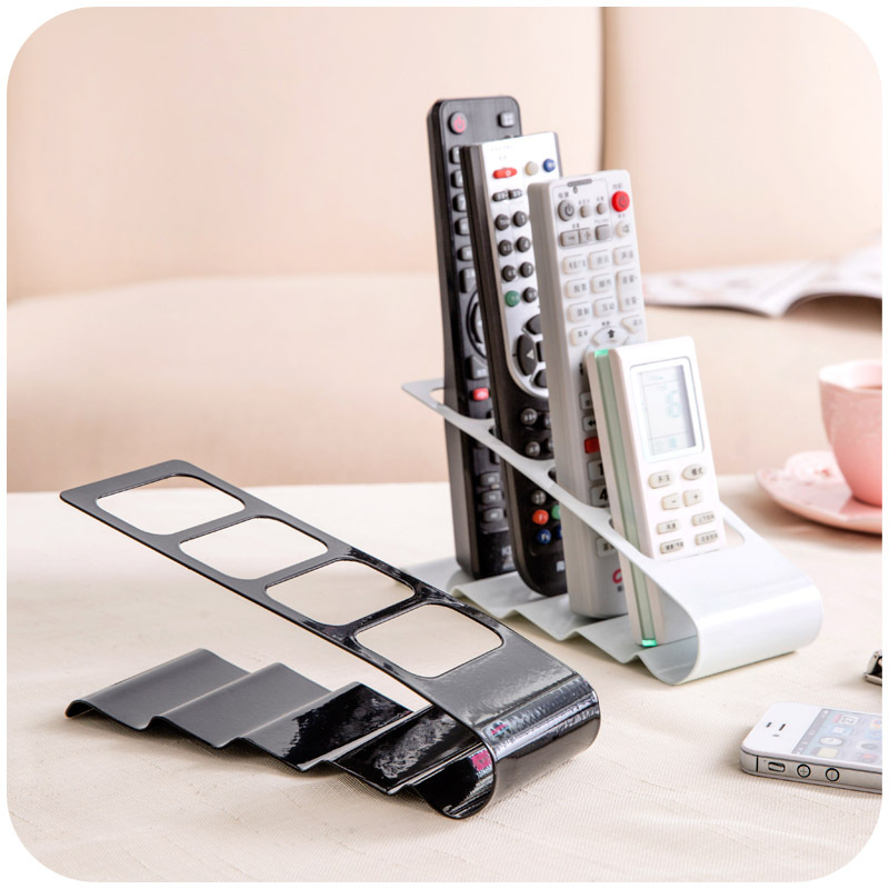 Up To 4 TV DVD VCR Mobile Phone Remote Control Stand Holder Storage Organiser(China (Mainland))