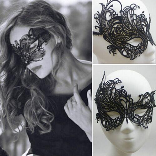 Eye Mask Sexy Lace Venetian Masquerade Ball Halloween Party Fancy Dress Costume 92VW(China (Mainland))
