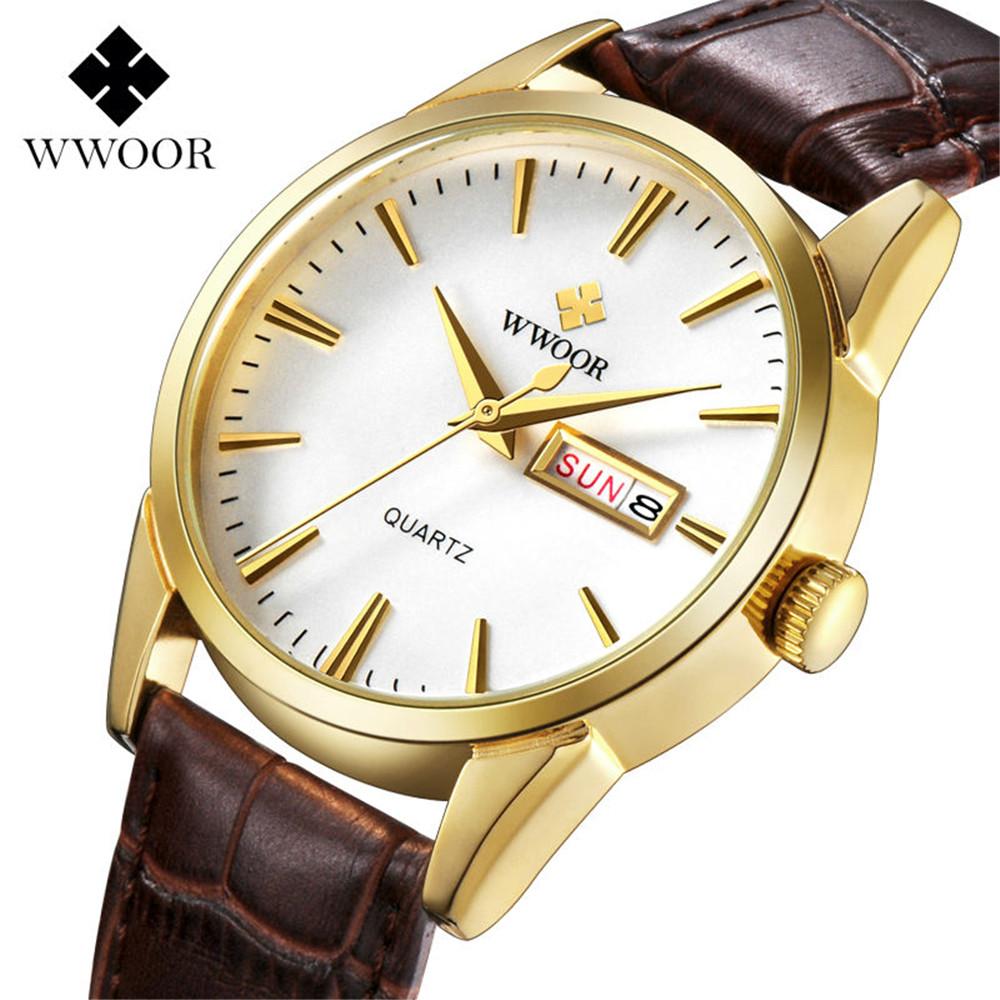 2016 Luxury Brand Sport Watches Men Watch Genuine Leather Casual Quartz Clock Date Week Display Japan Xfcs Erkek Kol Saati - Wemwatch Store store