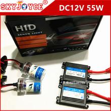 Buy 20X DHL DC 55W hid xenon H7 9005 H11 xenon kit 55W H4 hid bulb headlight H3 9006 hid kit 3000K-12000K H1 5000K hid xenon ballast for $366.93 in AliExpress store