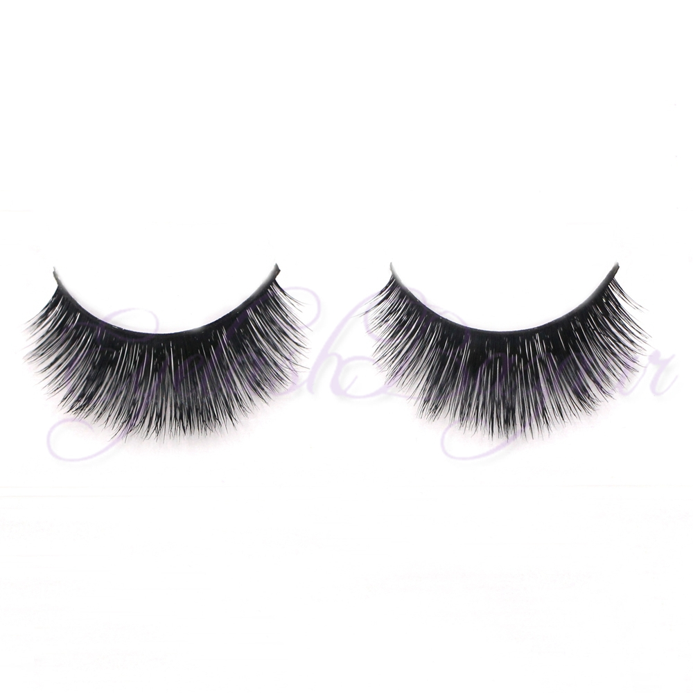 Real Mink fur False Eye Lashes Individual siberian mink lashes eyelash ...