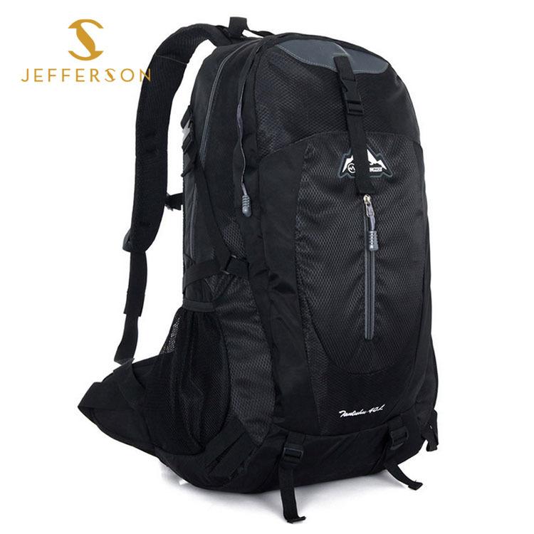 Backpack Travel Mochilas School Bags Teenagers 40L Waterproof Nylon Shoulder Bag Sports Outdoor Fashion Mountaining F92 - Jefferson Brand store